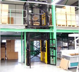 mezzanine-goods-lift